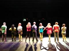 tosa west's production of 'chorus line' opens tonight
